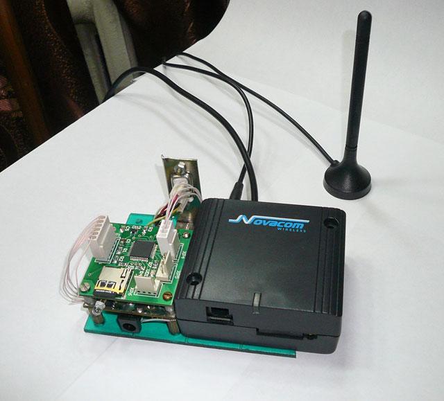 Контроллер пасеки(без корпуса) и GPRS модем