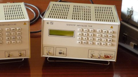 Генераторы импульсов точной амплитуды Г5-99 и Г5-103
