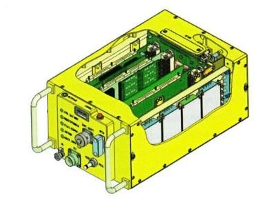 3D модель блока в разрезе