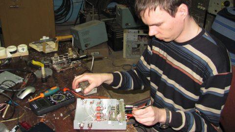 Разработка аппаратуры на станции. 2010г