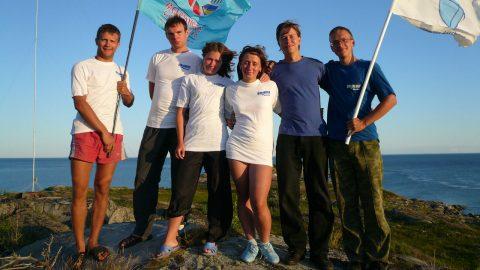 Экспедиция на остров Пурлуда. 2009г